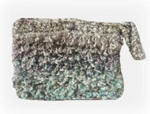 hand crochet purse