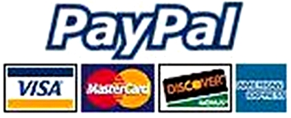 Paypal and Mastercards are accepted