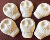 Day of the Dead Sugar Skulls Paint It Yourself for Crafts Plaster Cast Craft Supply 3D Skull Paintable Sugar skull