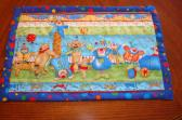 Child Placemat Circus theme GIFT SET
