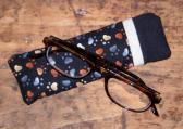 Paw Print Reading Glasses Case