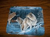 Mouse Pad Wolves Rectangle