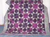 Diamons Squares Patchwork Quilt