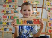 WOODEN PUZZLE NAME Liam  free gift