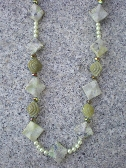 Asymmetrical Stone Necklace