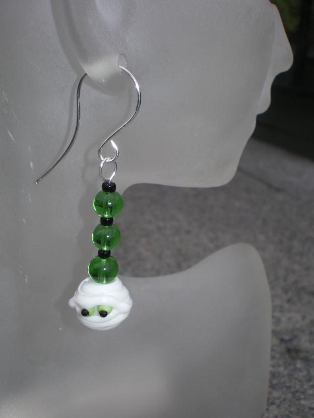 Mummy Earrings