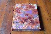 Maple Leaf Japanese Fabric covered blank journal Momiji hard cover sketch book