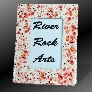 Fiery Red and White 4 x 6 Ceramic Picture Frame