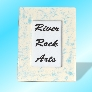 Turquoise Marble Look 4 x 6 Ceramic Picture Frame