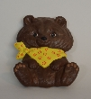 Brown Baby Bear Ceramic Wall Hanging