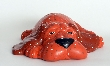 Ceramic Soft Sculpture Look Puppy Dog