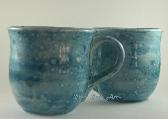 Large Ceramic Mugs Ceramic Turquoise Swirl