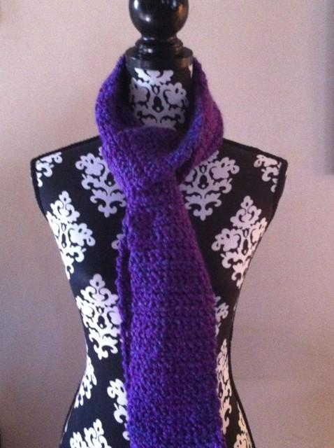 Plush Under the Violet Moon Scarf