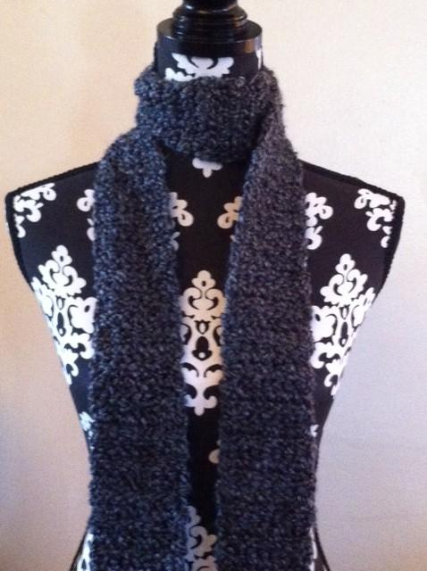 Ultra Soft Hematite Gray Scarf