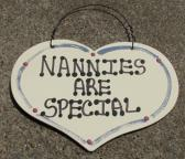 1002  Nannies are Special Large Heart
