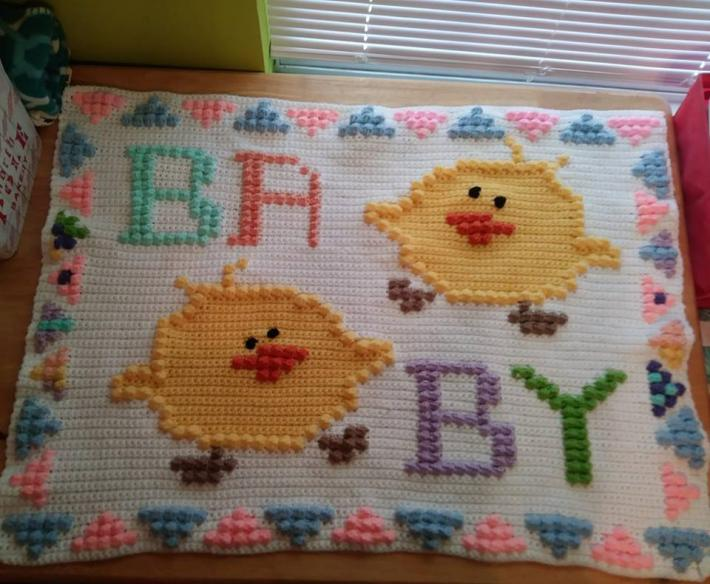 BABY CHICK BLANKET