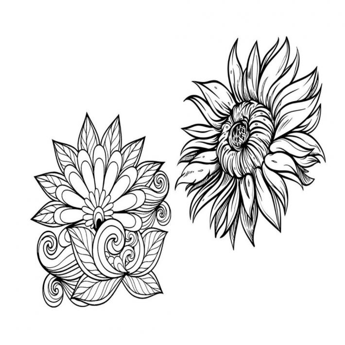Adult Coloring Pages Set 2