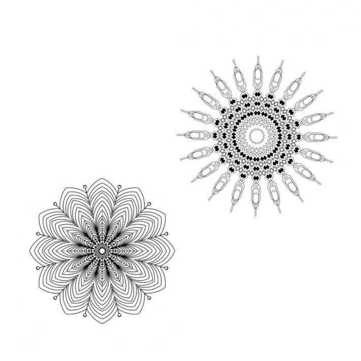 Adult Coloring Pages Set 6