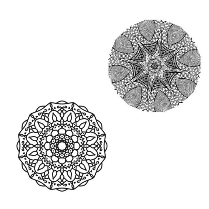 Adult Coloring Pages Set 8