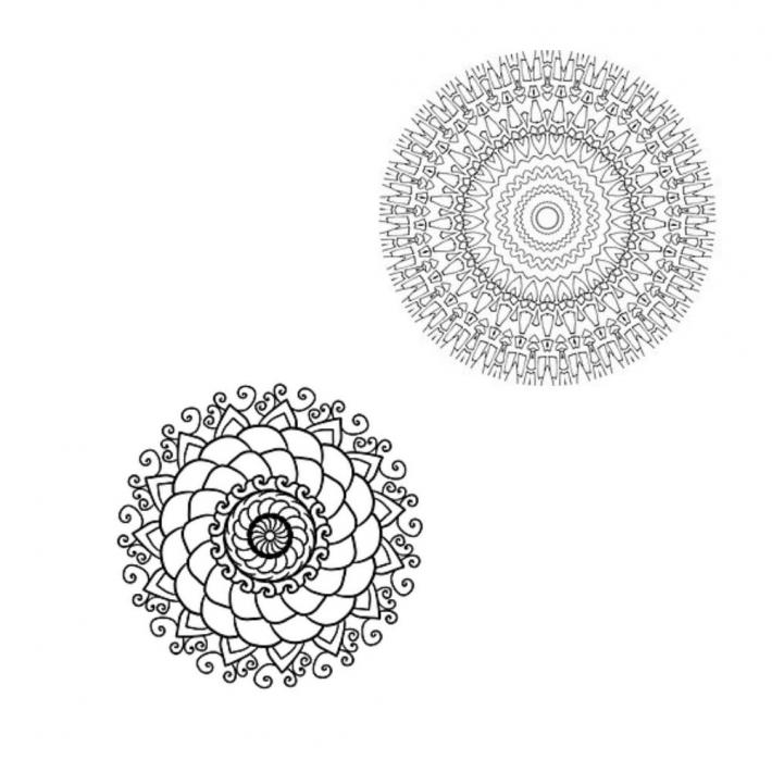 Adult Coloring Pages Set 9