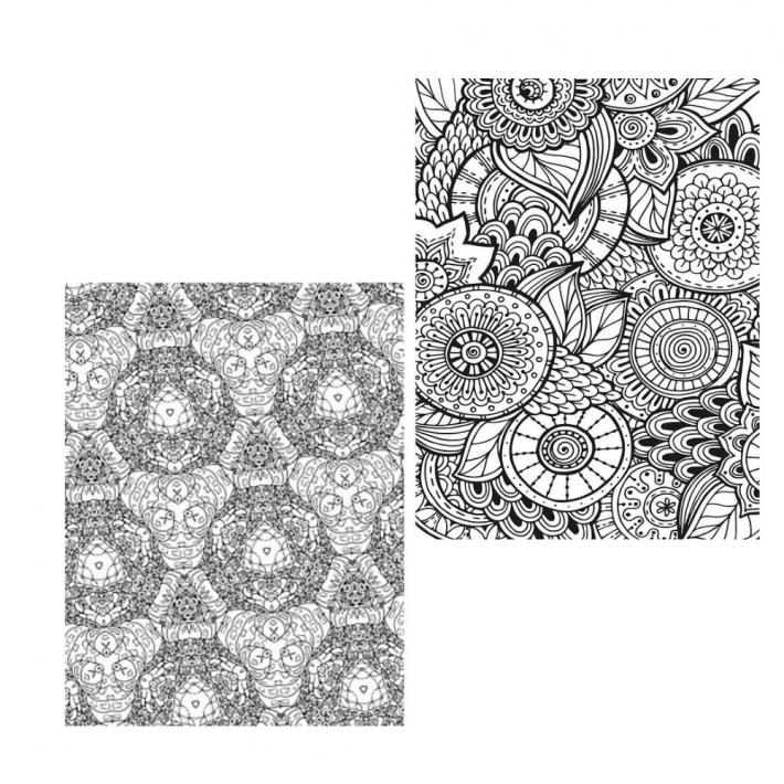 Adult Coloring Pages Set 11