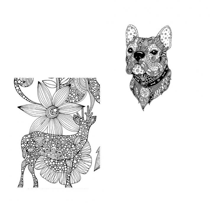 Adult Coloring Pages Set 12