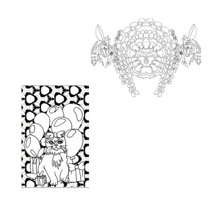 Adult Coloring Pages Set 18