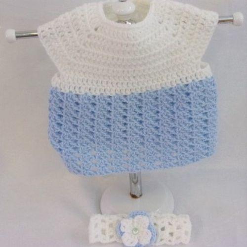 Newborn Dress and Headband