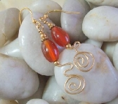Carnelian Delight Earrings