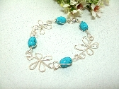 Desert Flower Handmade Bracelet