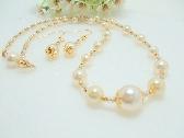 Graduated Bridal Pearls set