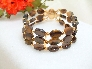 Tiger Eye Triple Strand bracelet