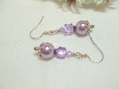 Lavender Love Earrings