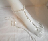 Pearly Whites barefoot sandals