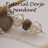 Tutorial for wire wrapped woven 3D Dorje pendant
