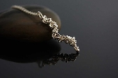 Grapevine handmade sterling silver wire wrapped Necklace