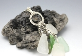 Rings of Glass Sea Glass Necklace