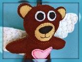 Guardian Angel Bear Lavender Sachet
