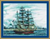 Sails Cross Stitch Pattern