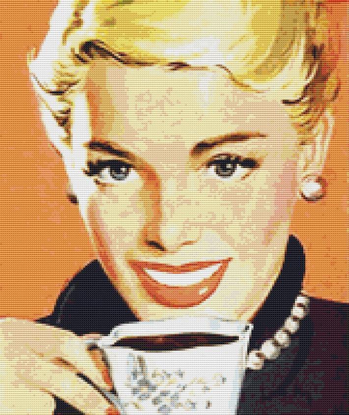 A Cup Of Coffee Cross Stitch Pattern