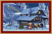 A Merry Christmas Cross Stitch Pattern