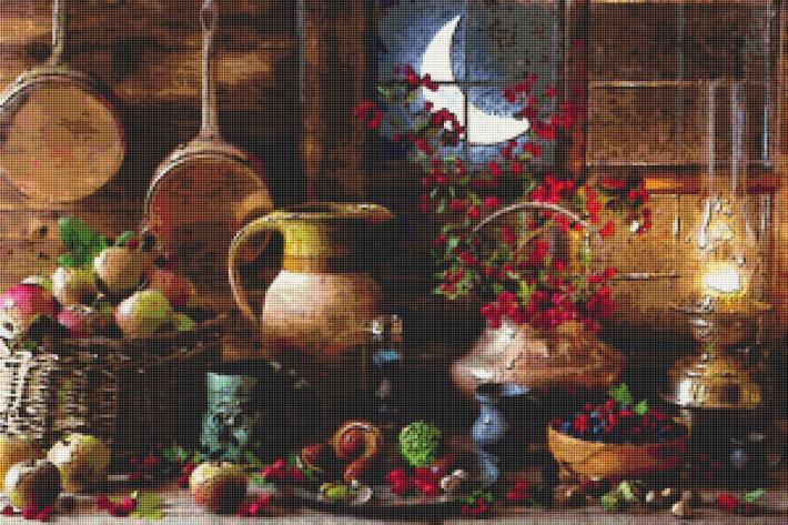 Fruits Cross Stitch Pattern