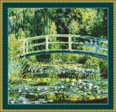 Water Lily Pond Cross Stitch Pattern