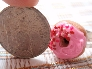 Pink Strawberry Frosted Donut Ring