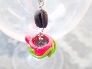 Hot Pink Coffee Cup Pendant