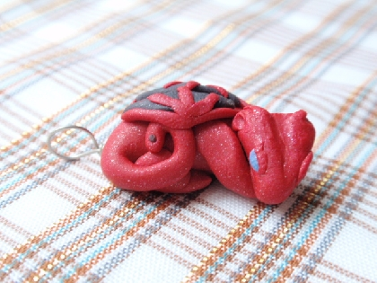Red Dragon Pendant
