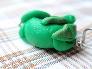 Dark Green Dragon Pendant