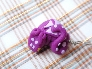Purple Spotted Dragon Pendant