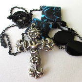 Spring Cross Necklace