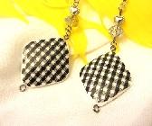 Picnic Plaid Earrings